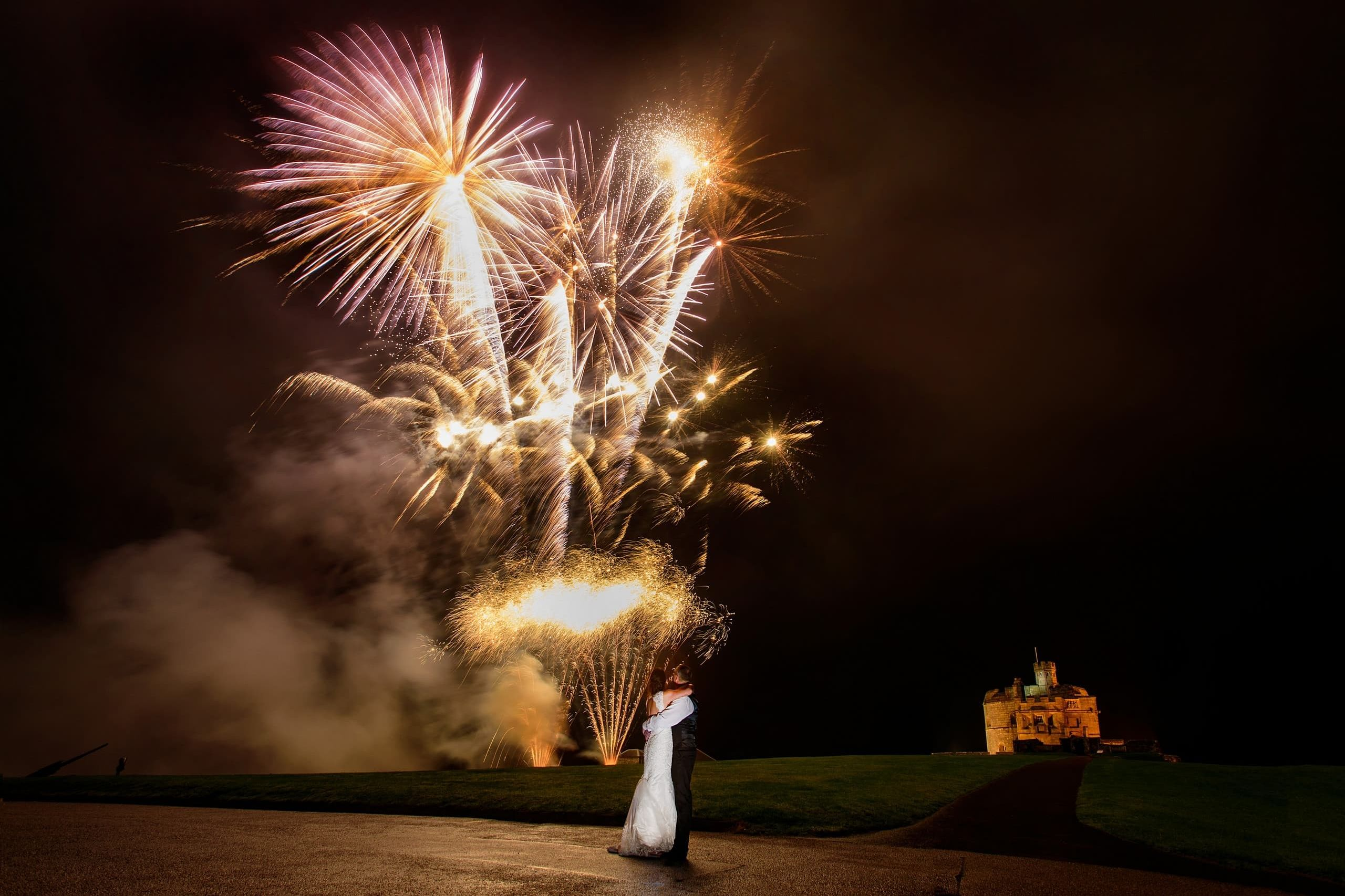 Wedding Fireworks-at-Pendennis-Castle-1