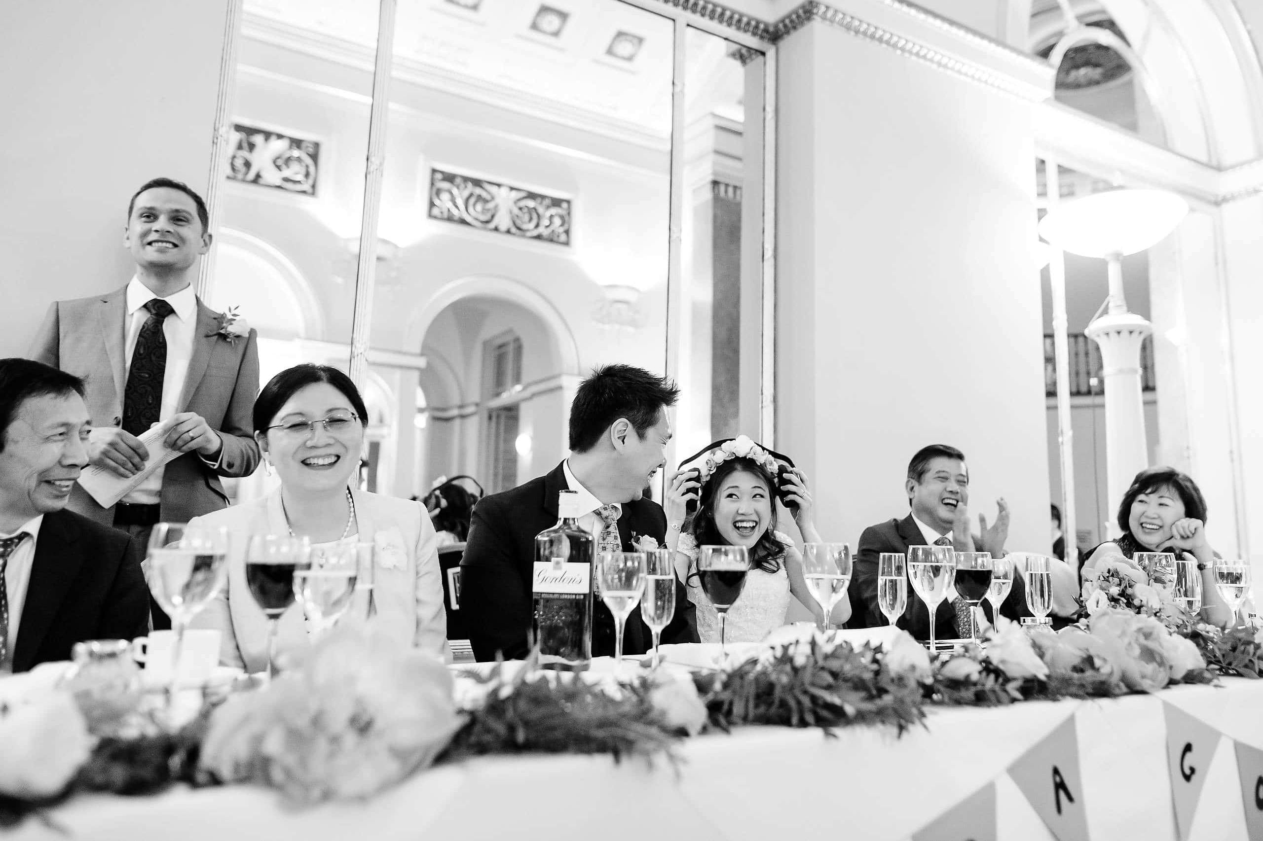 Wedding at the Lansdowne Club in London 1