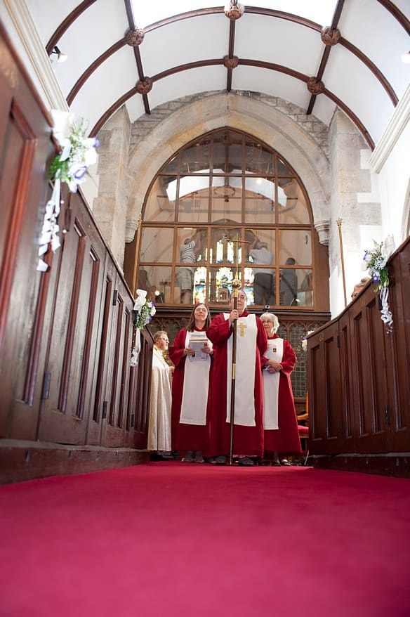 the st Marys church bell ringers and choir