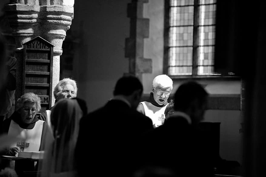 st mary's church choir singing