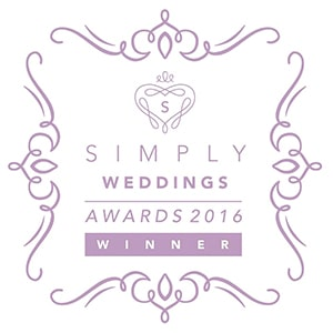 simply wedding award winner