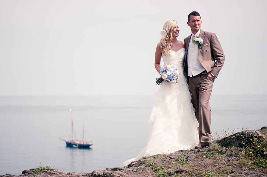 The Lugger hotel wedding