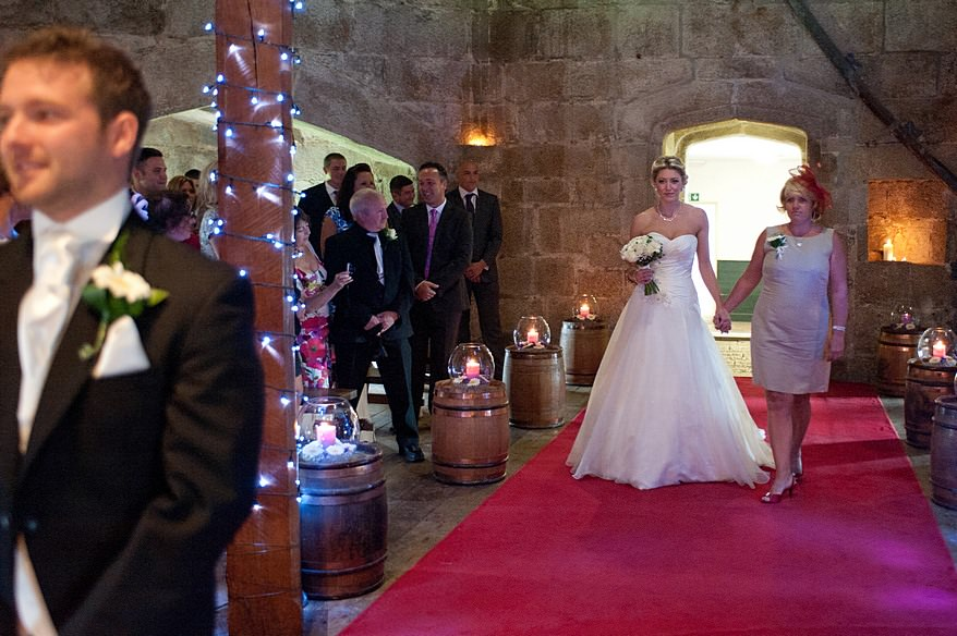 Pendennis Castle wedding in Falmouth 69