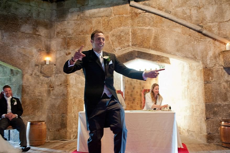 A wedding at Pendennis Castle in Falmouth 61