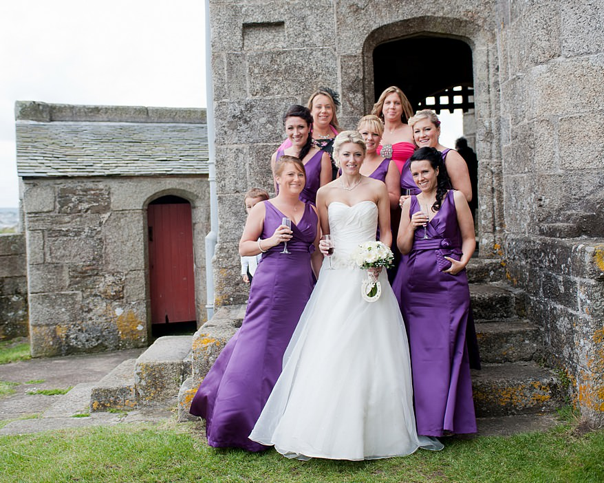 A wedding at Pendennis Castle in Falmouth 54