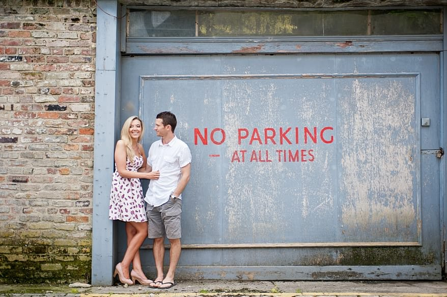 Engagement session in Falmouth