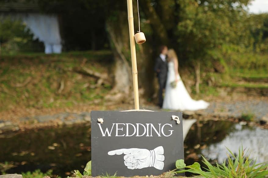 wedding a trevennna barns in Cornwall