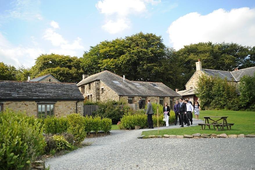 Trevenna barns wedding photographer 1