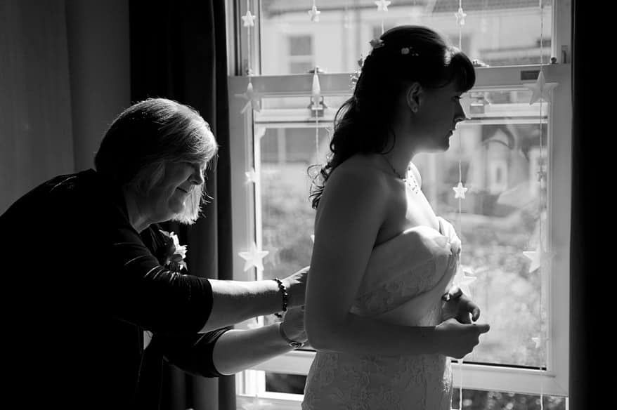 Langdon Court Hotel Wedding 13