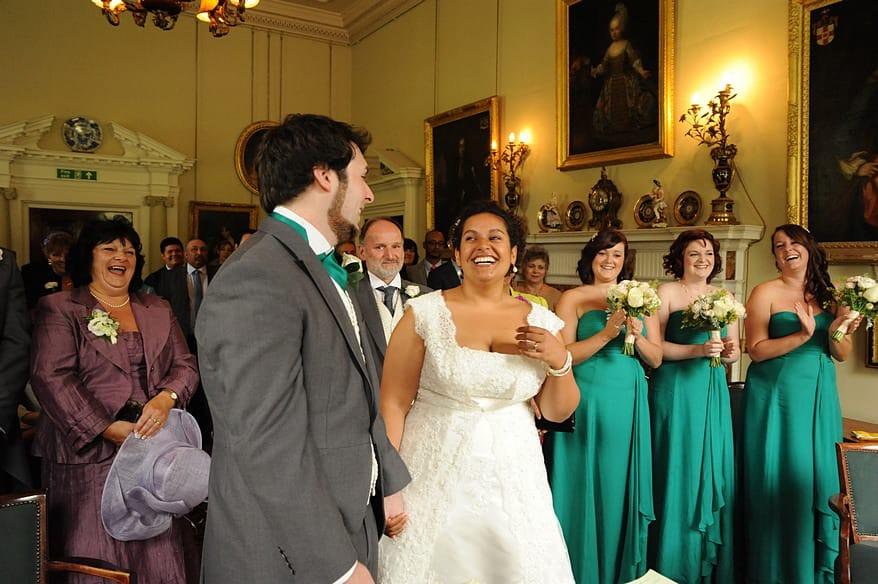 Wedding at Pencarrow House 1