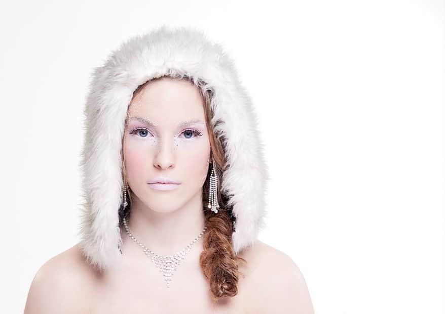 winter makeup photography 1 Cornwall portrait photographer