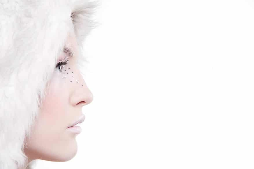 winter makeup photography 3 Cornwall portrait photographer