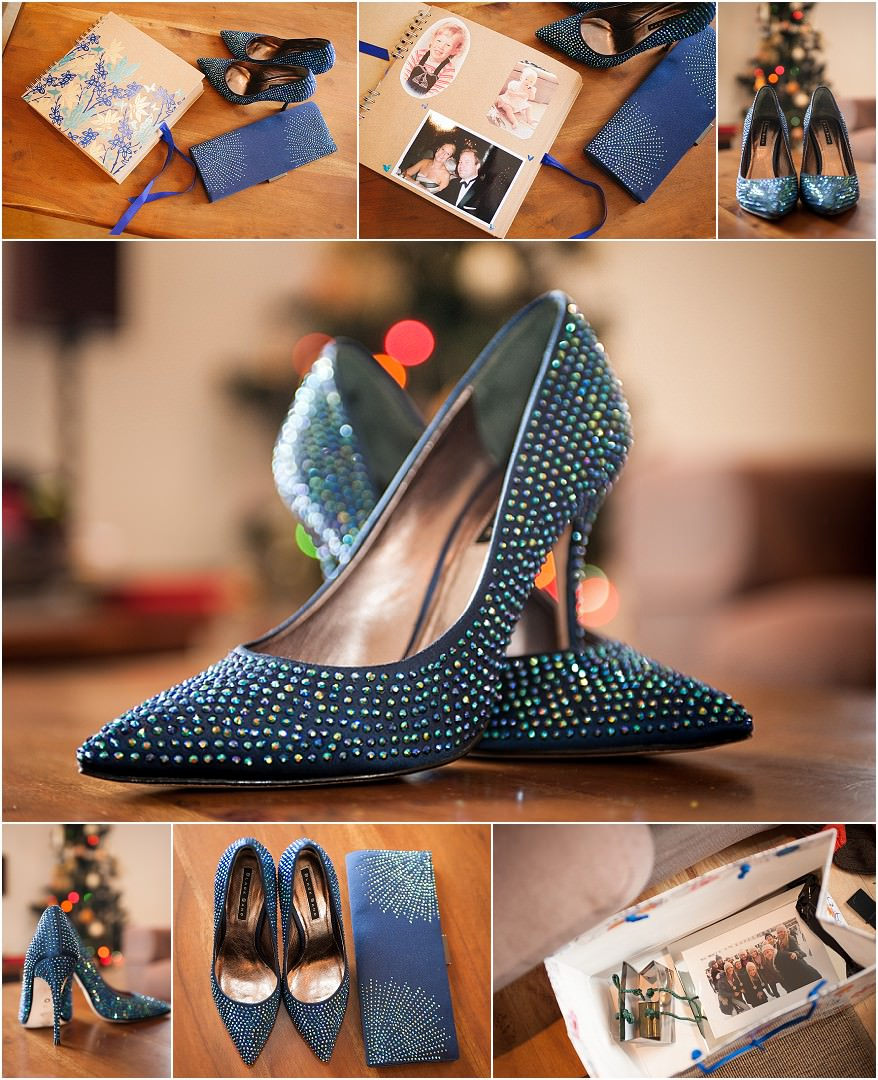 wedding shoes take by a cornwall wedding photographer