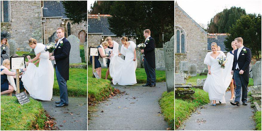 mylor church wedding in cornwall 16 cornwall wedding photographer