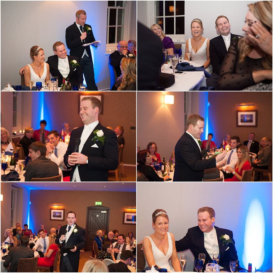 wedding speeches at pendennis castle