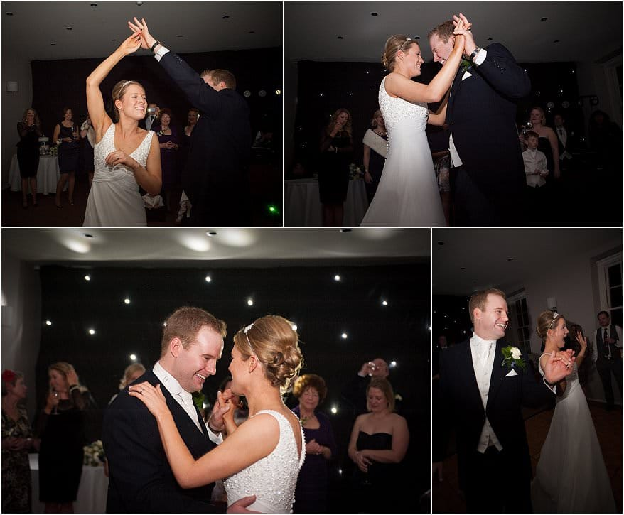first dance at a wedding at pendennis castle 1