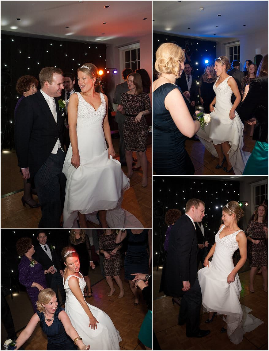 first dance at a wedding at pendennis castle