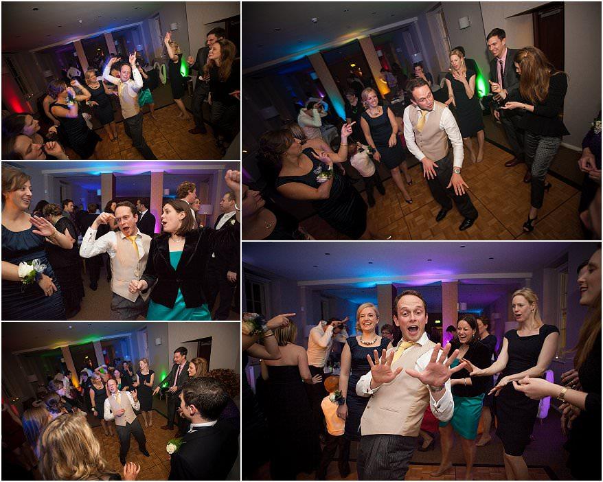 dancing at a pendennis castle wedding