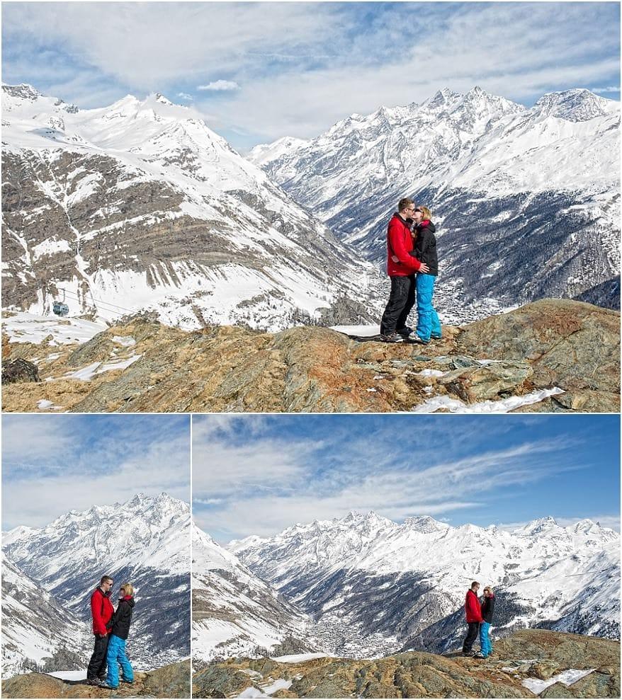 Engagement session in Zermatt 1 Zermatt Engagement