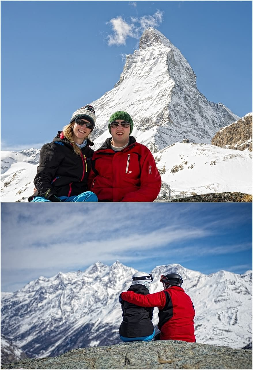 Engagement session in Zermatt 2 Zermatt Engagement