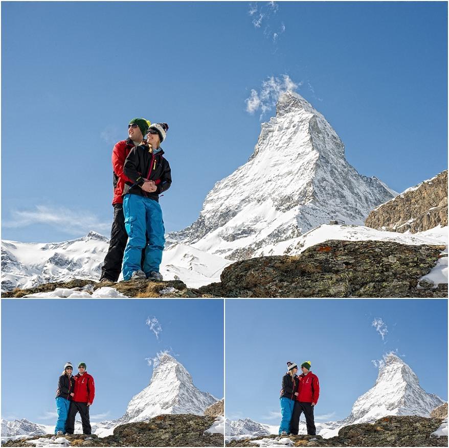 Engagement session in Zermatt 3 Zermatt Engagement