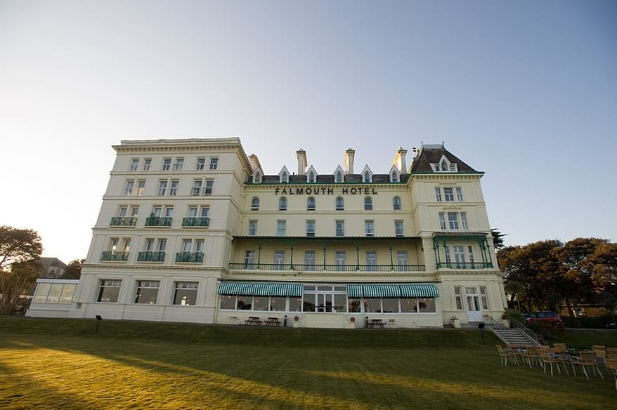 The Falmouth Hotel 1 wedding venue in falmouth