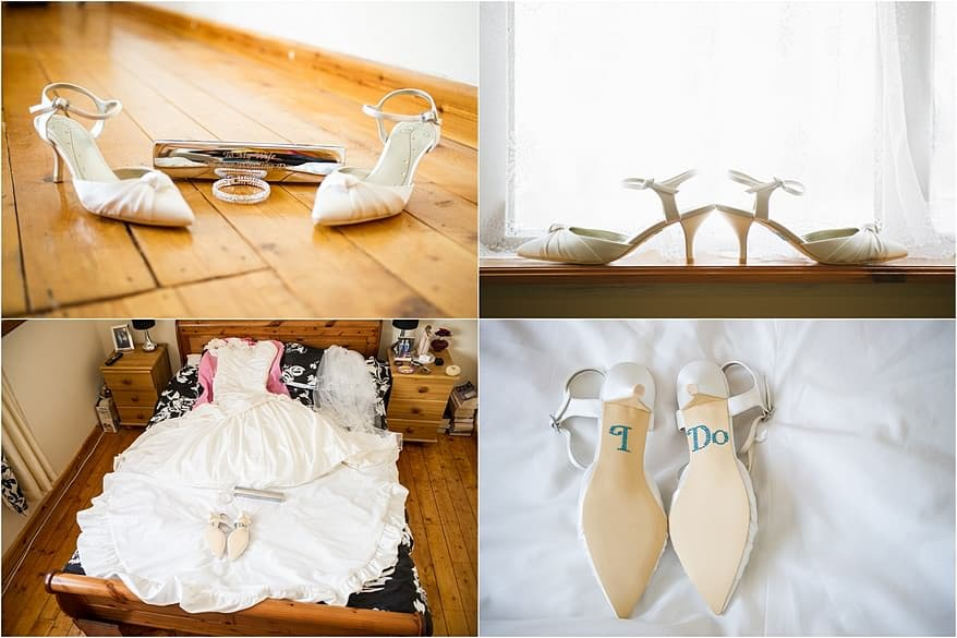 wedding details from the Falmouth hotel