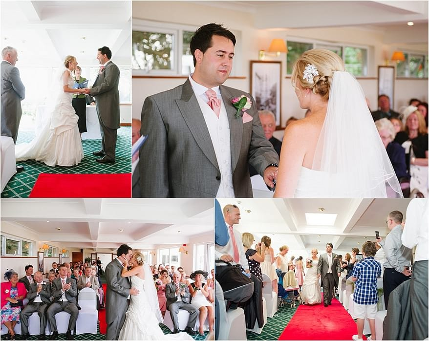 Falmouth Hotel wedding ceremony