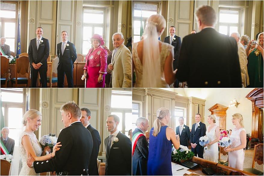 Salo town hall wedding
