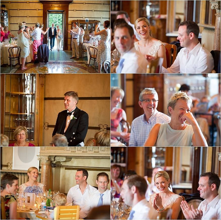 Father of the bride speeches at Hotel Laurin