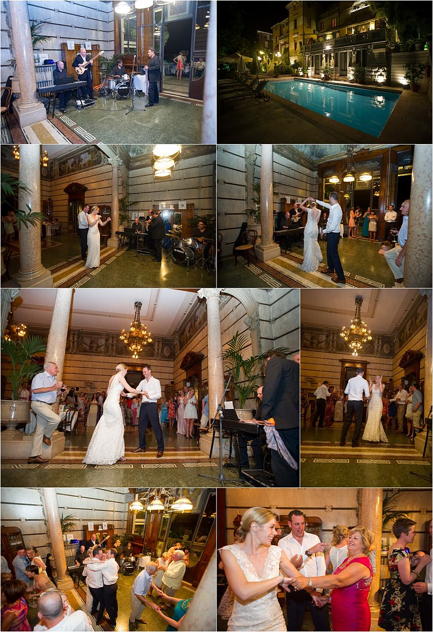 First dance with the Bridal party in Hotel Laurin