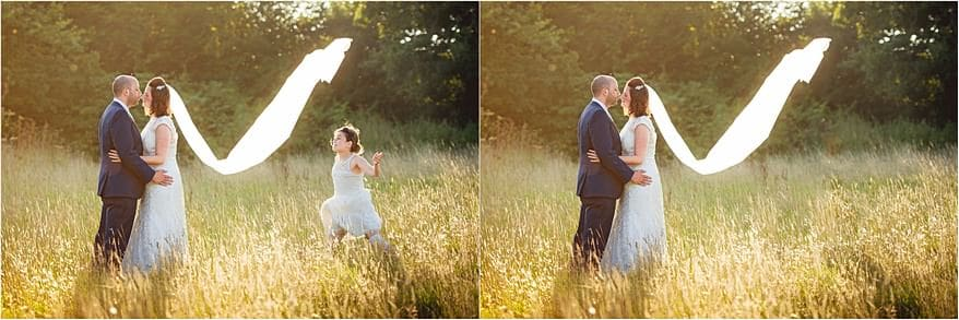 beautiful portraits of the bride and groom at Trevenna Barns