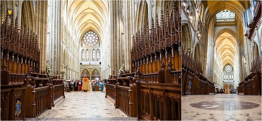 Stunning architecture at Truro Cathedral