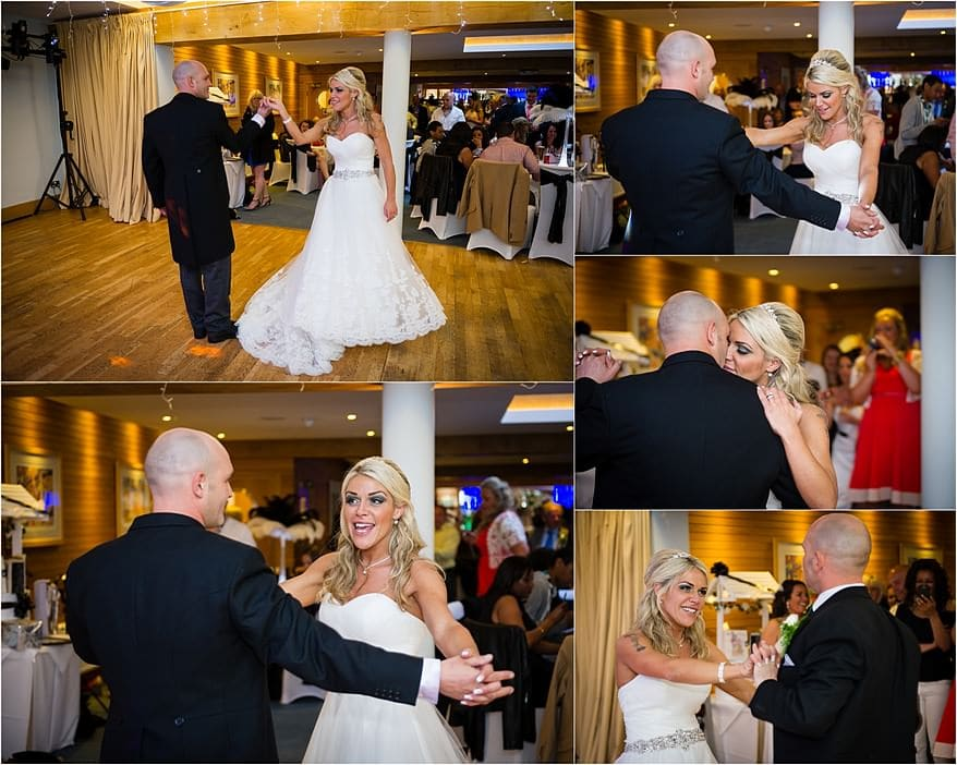 First dance at St Michael's Hotel