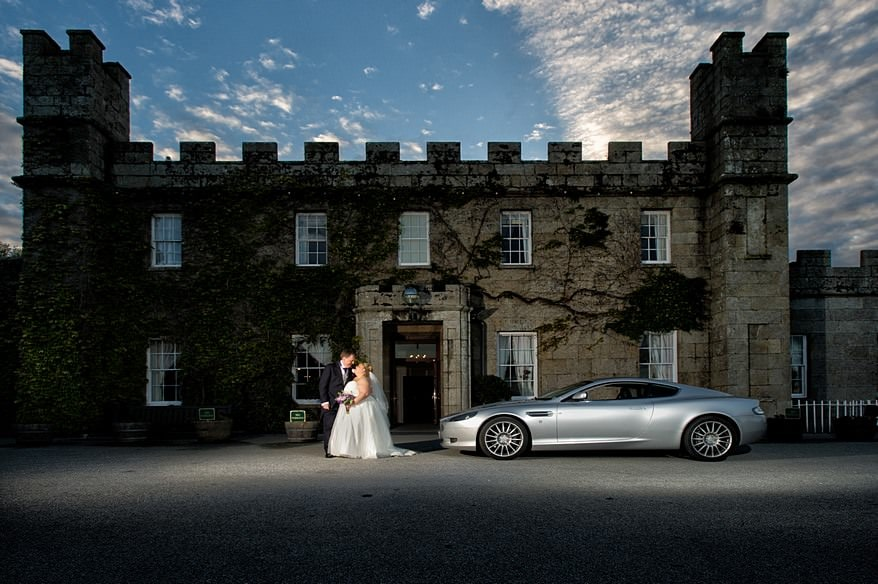 Photograph taken by a Tregenna Castle wedding Photographer