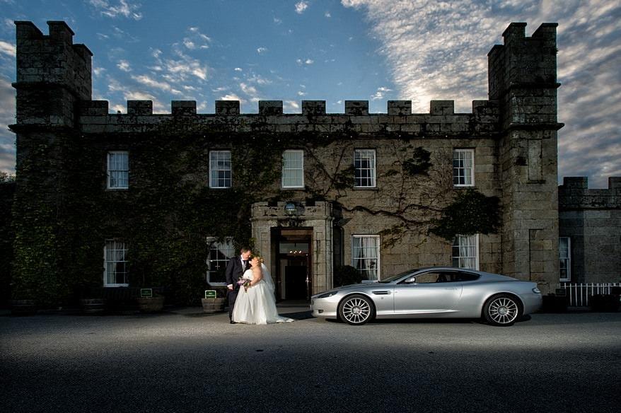 Photograph taken by a Tregenna Castle wedding Photographer
