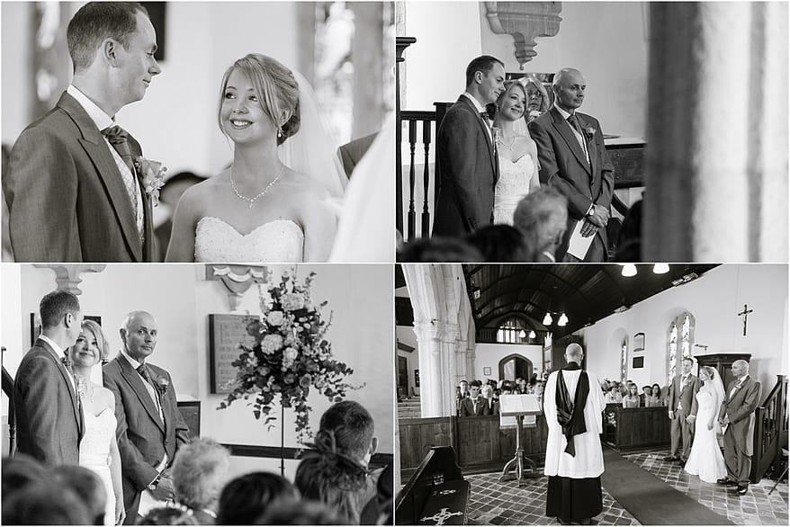 wedding at St Allen Church