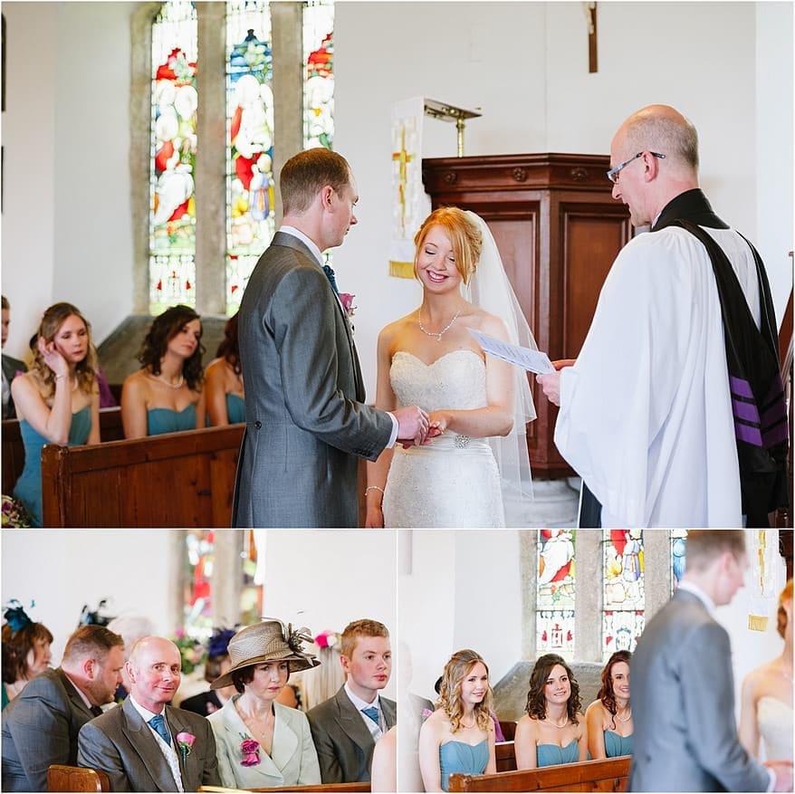 Bride party at St Allen Church