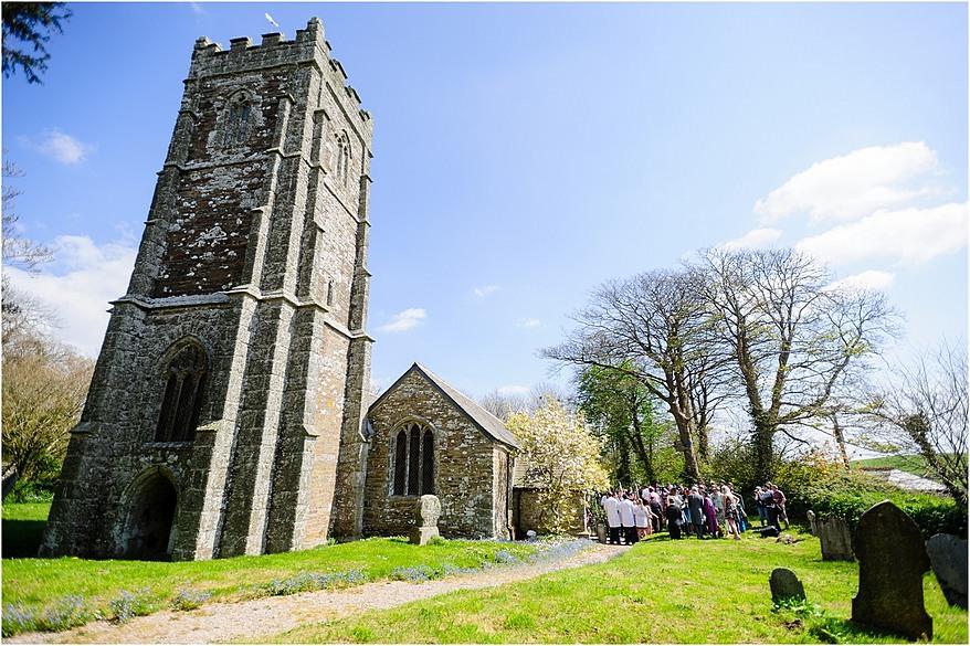 St Allen Church Wedding