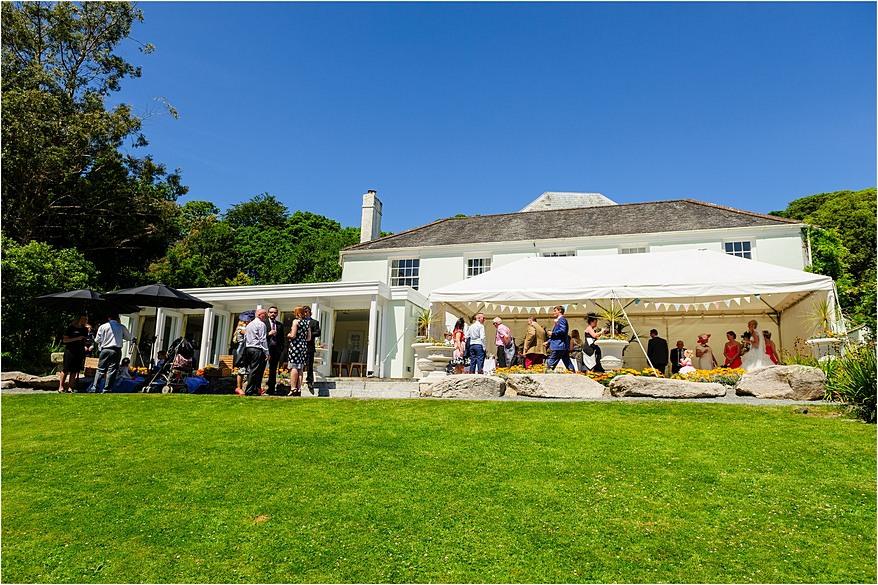 The House at Trebah Garden