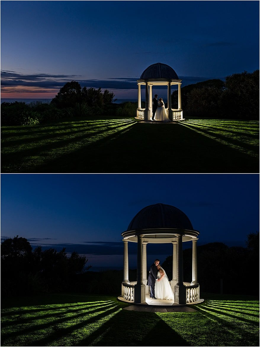 Wedding Photography at Tregenna Castle in the Pavillion