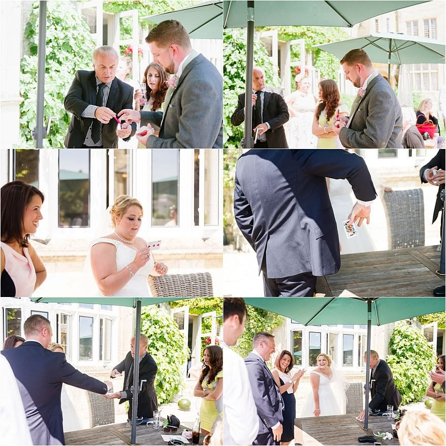Magician at a Alverton Hotel Wedding