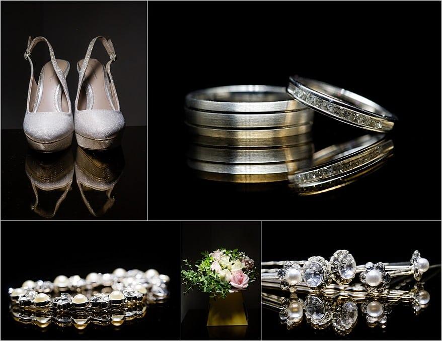 Wedding detail photographs at a Alverton Hotel wedding