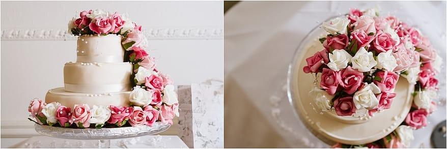 Wedding Cake at a Alverton Hotel Wedding
