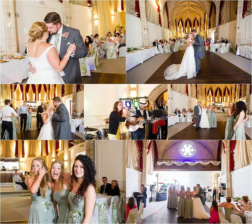First dance at my latest Alverton Hotel Wedding