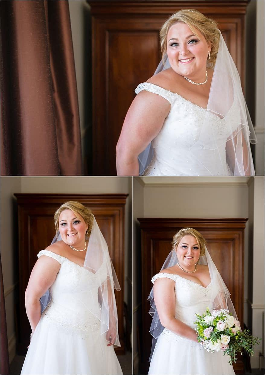 Beauiful Bride at her Alverton Hotel Wedding