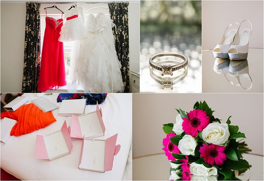 Bridal preparation at the Duchy Hotel in Falmouth