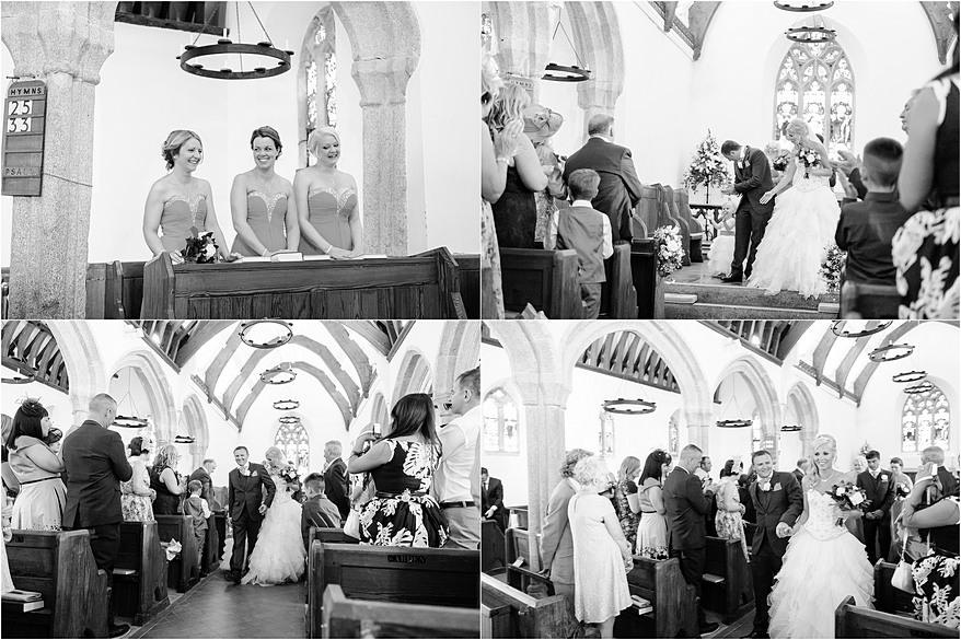 A Beautiful wedding at Mawnan Church