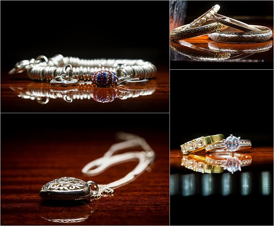 Wedding rings at Budock vean hotel in Falmouth