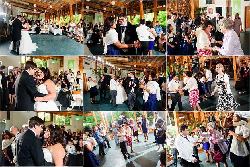 first dance at my latest wedding at Trebah Gardens in falmouth